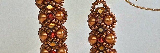 Bronze Embassy Earrings