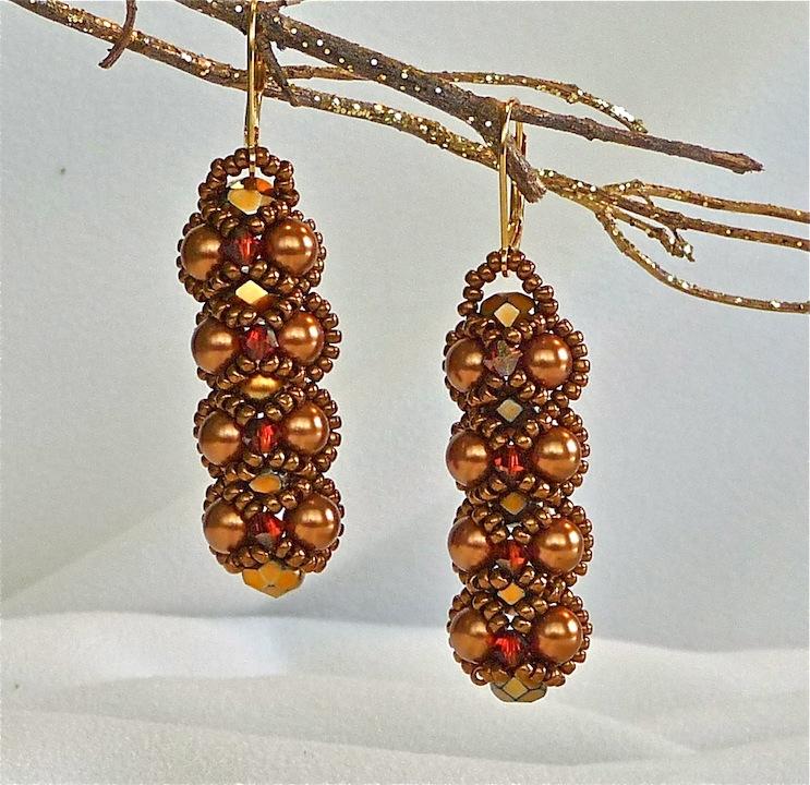 Bronze Embassy Earrings rs