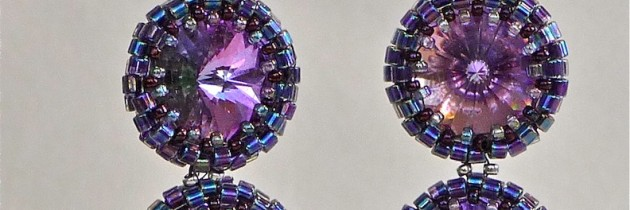 Cosmic Double Drop Earrings