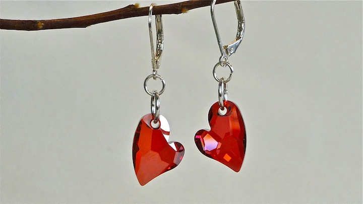 Devoted Heart Earrings rs