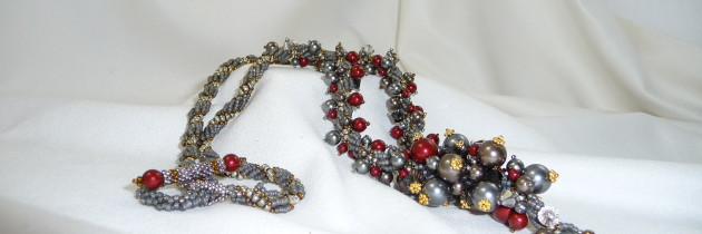 Mutli-coloured Beaded Necklace