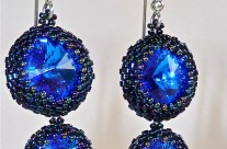 Sapphire Double Drop Earrings