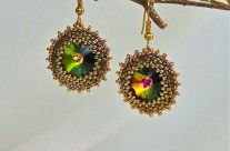 Vitral Sunburst Earrings