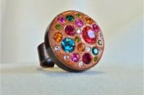 Bronze Round Ring