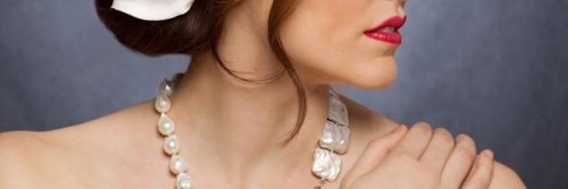 Fresh Water Pearls Bridal Set