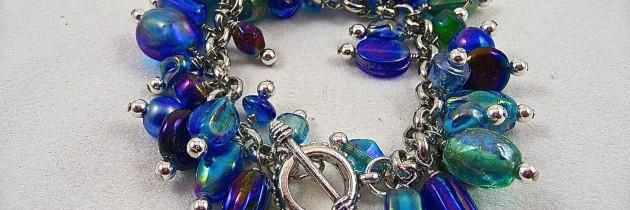 Gulf Blue Cha-Cha Bracelet