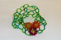 Swarovski Crystals Flowers on Vine
