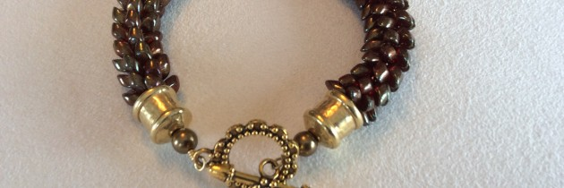 Ruby Kumi Bracelet