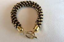 Black & Gold Kumi Bracelet