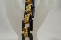 Onyx Swarovski Crystal Bracelet