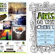 Arts on the Credit Show Reminder