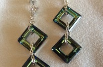 Swarovski Bermuda Drop Earrings