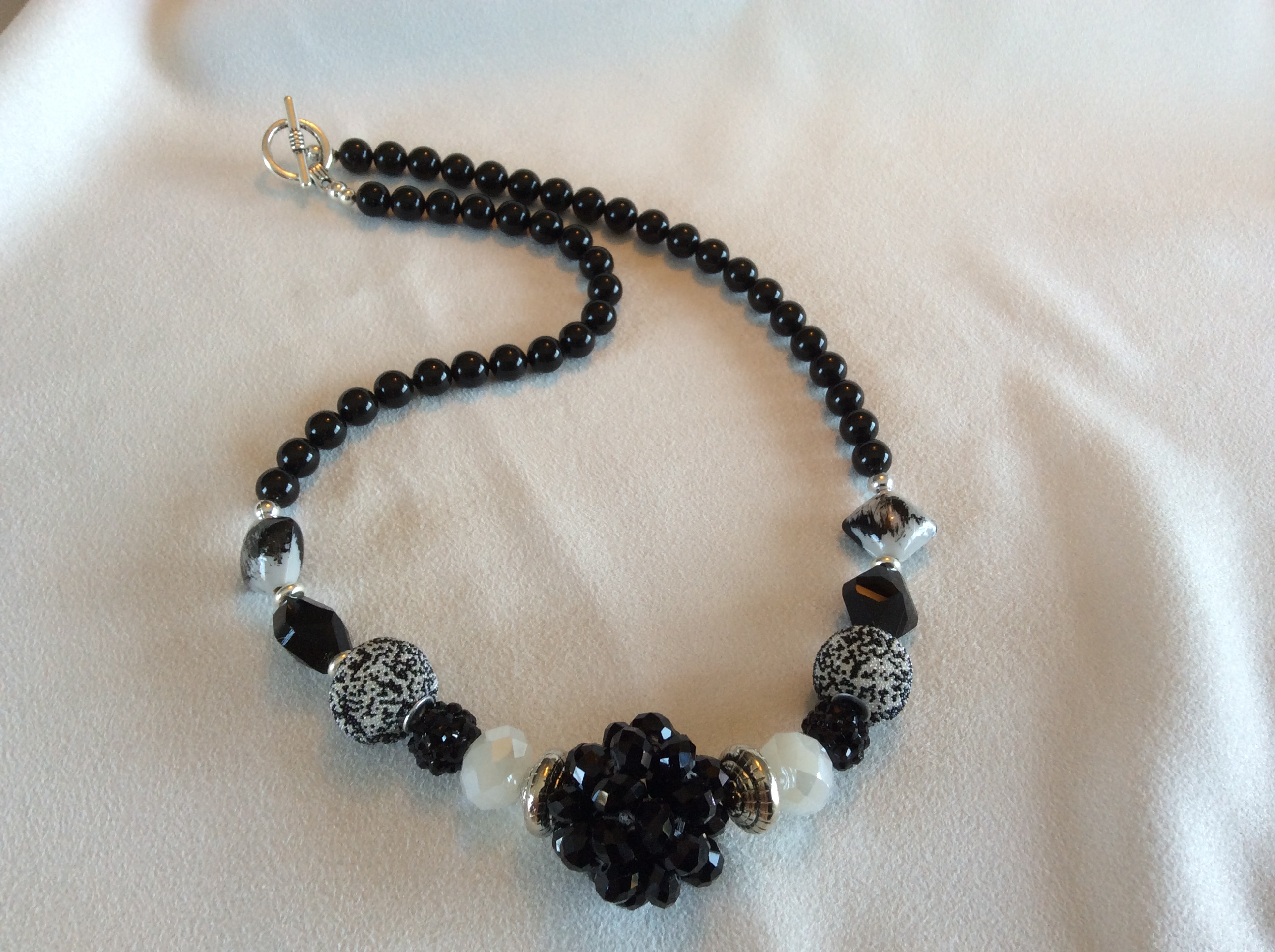 Black and White Necklace