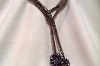 King Neptune Nickel Double Necklace