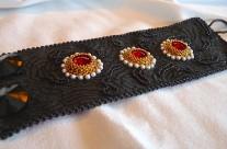 Black Magic Leather Cuff