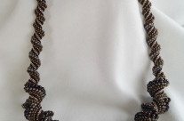 Bronze Cellini Necklace