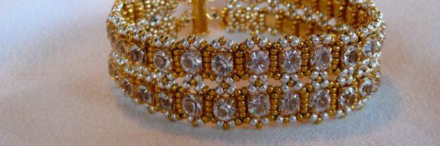 Gold Swarovski Bracelet